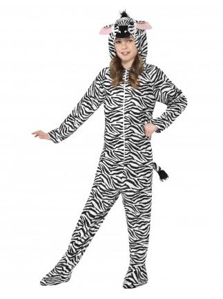 Zebra Kostüm Kinder