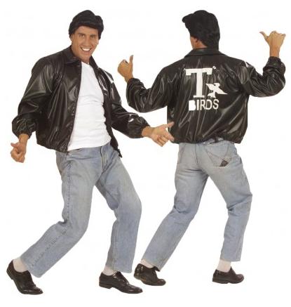 50er Jahre Rockabilly Grease Kostüm Herren