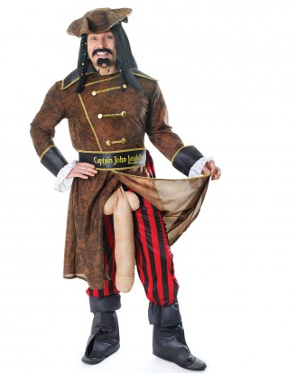 Captain Longfellow Penis Kostüm
