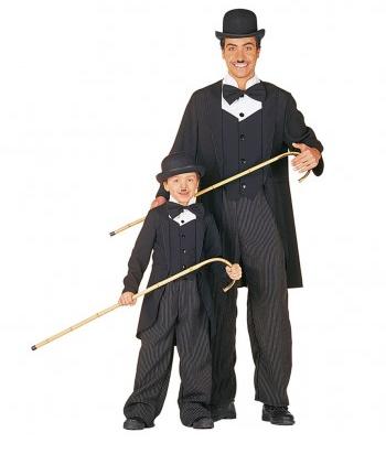 Charlie Chaplin Kostüm Erwachsene und Kinder