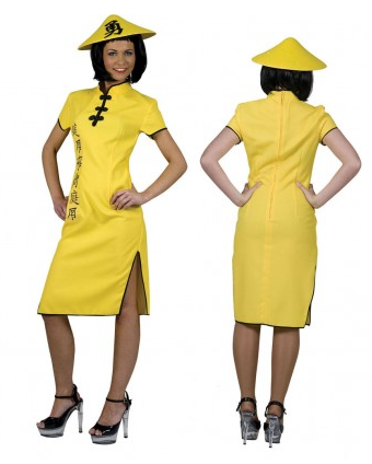 Chinesin Kostüm Damen