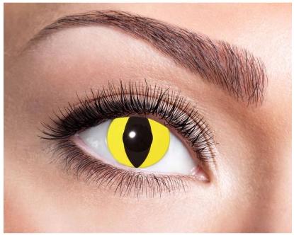 Halloween Kontaktlinse Katzenauge