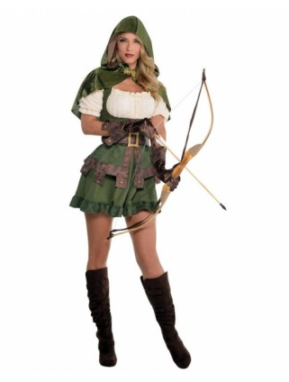 Jägerinnen Kostüm Damen