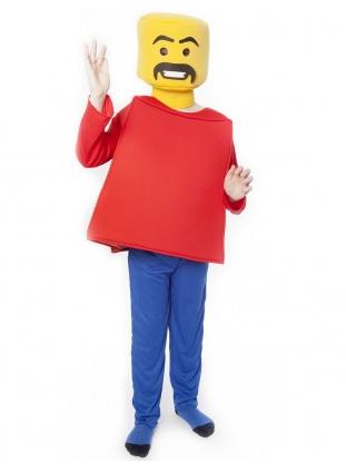Lego Kostüm Figur Kinder