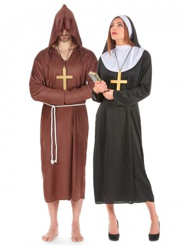 Nonne und Mönch Kostüm