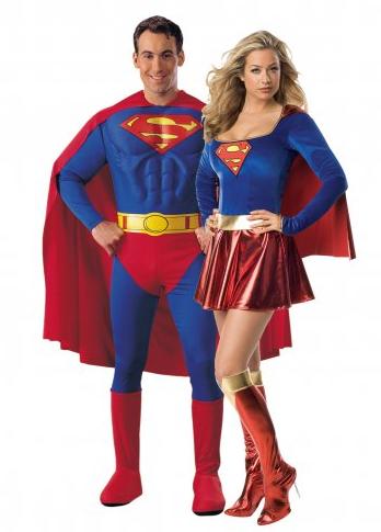Partnerkostüm Superhelden