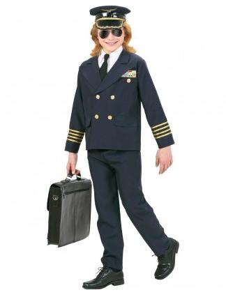 Pilotenkostüm Kinder