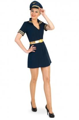 Pilotin Kostüm Damen