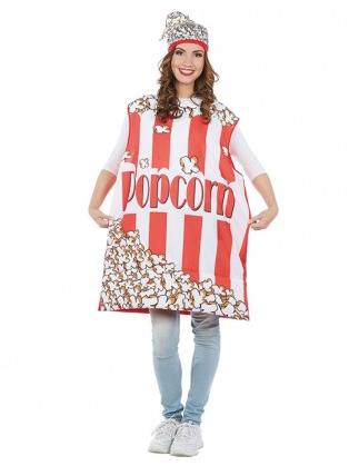 Popcorn Kostüm für Damen und Herren