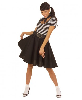 Rockabilly Kostüm Damen Grease