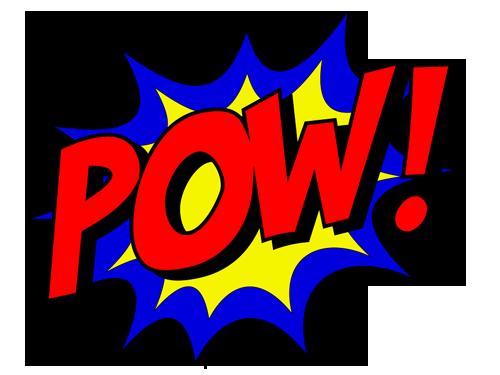 Superhelden Pow