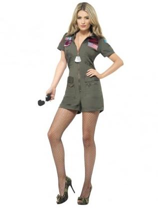 Top Gun Kostüm Damen