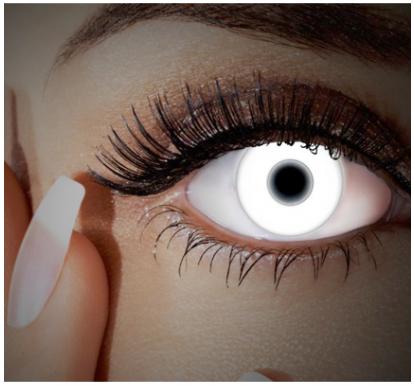 UV Kontaktlinsen für Halloween