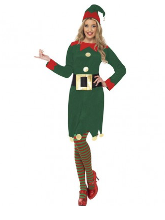 Weihnachtself Weihnachtswichtel Kostüm Damen
