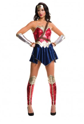 Wonder Woman Kostüm Damen