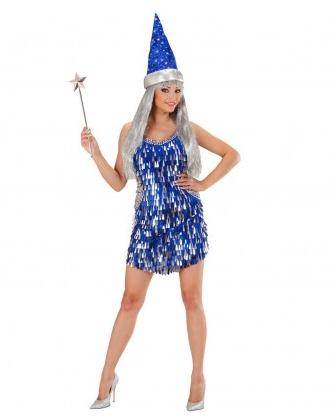 Magier Zauberinnen Kostüm Damen