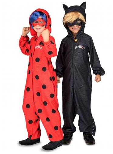 Cat Noir & Ladybug Partnerkostüm