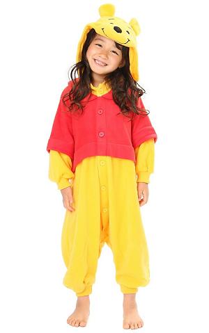 Winnie Pooh Kigurumi Kinder