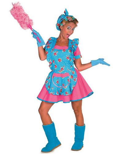 Putzfrauenkostüm Damen